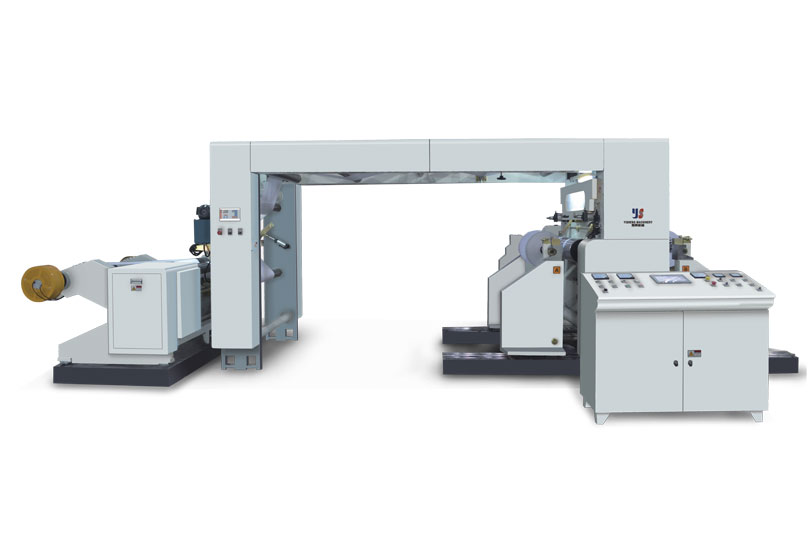 YSK-Bare Frame Style Full Automatic High Speed Slitting And Rewinding Machine